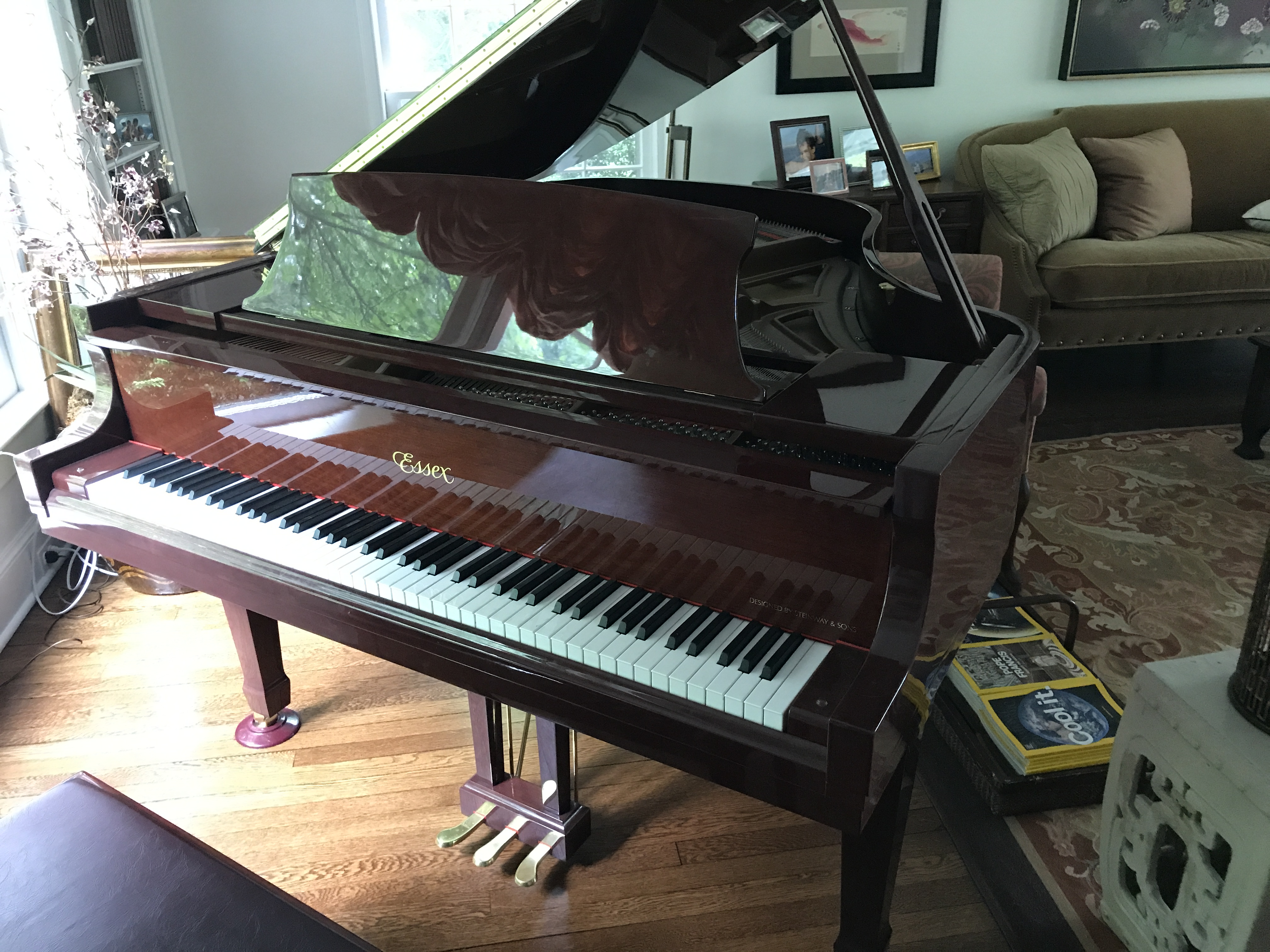 Es Baby Grand Piano For By Owner