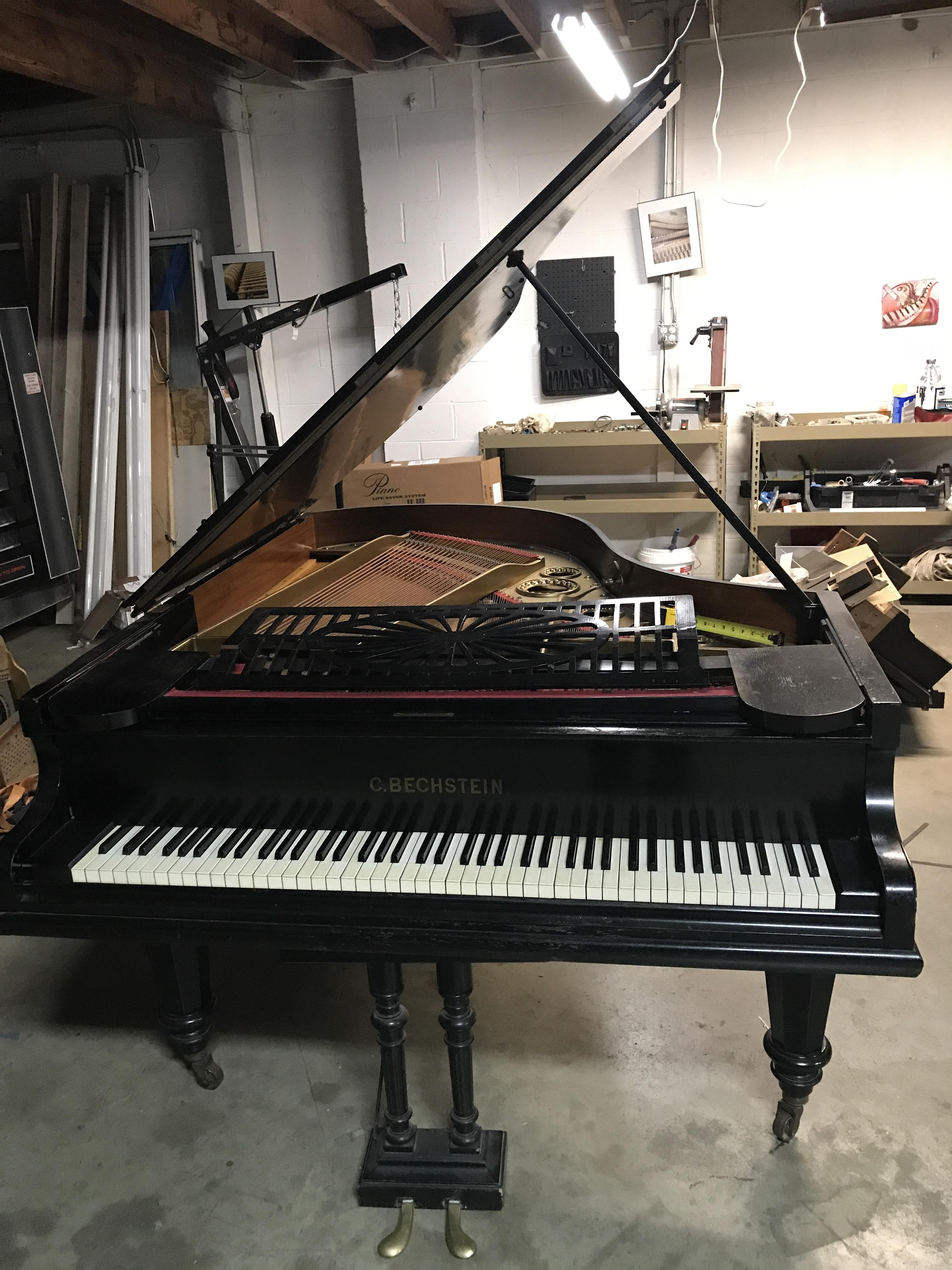 Antique Bechstein Piano