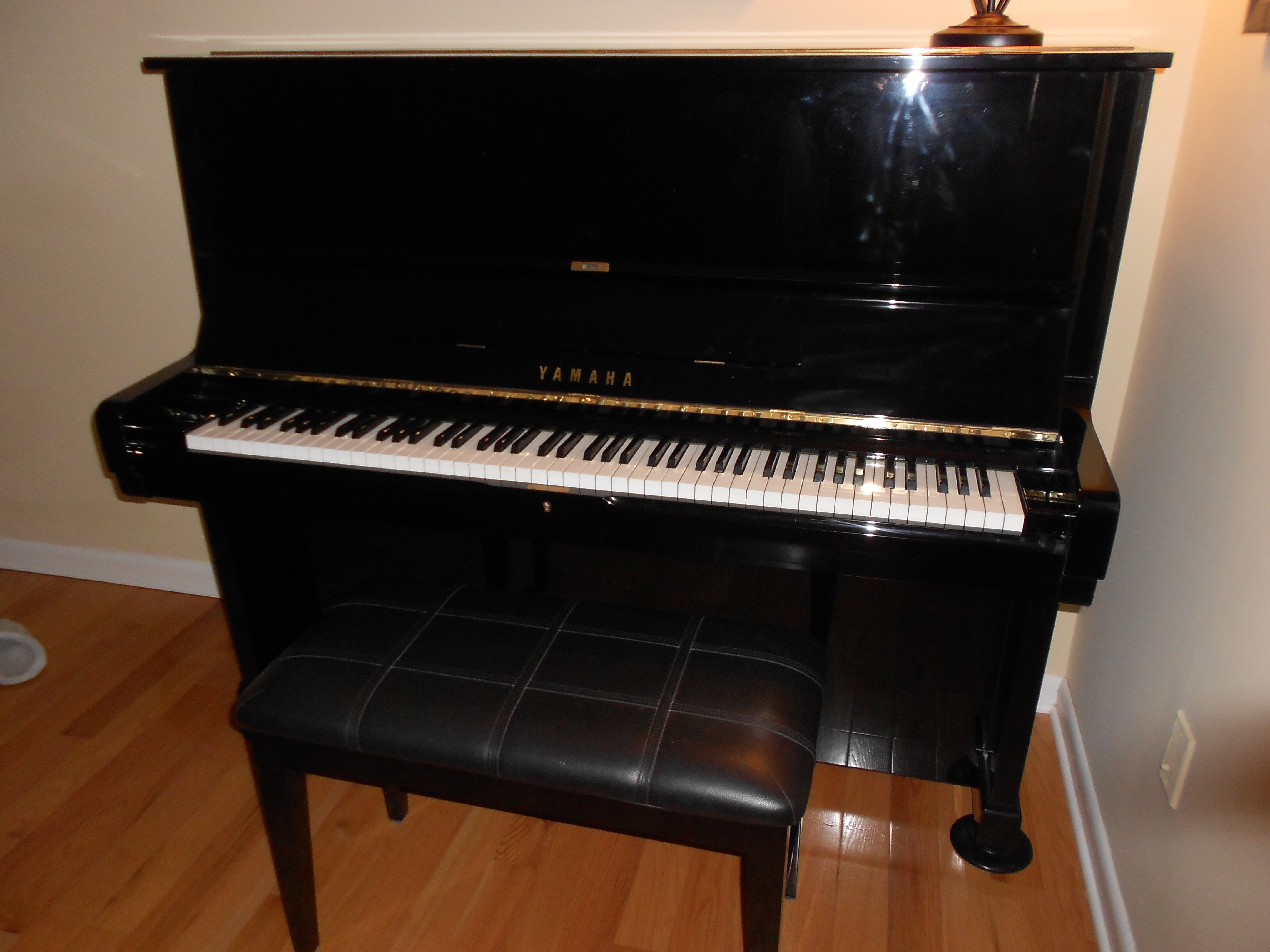 Yamaha U2 Upright Piano Amadeus