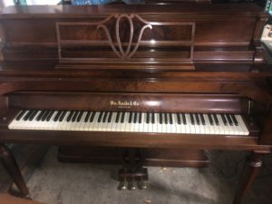 Wm. Knabe Art Deco Upright Piano